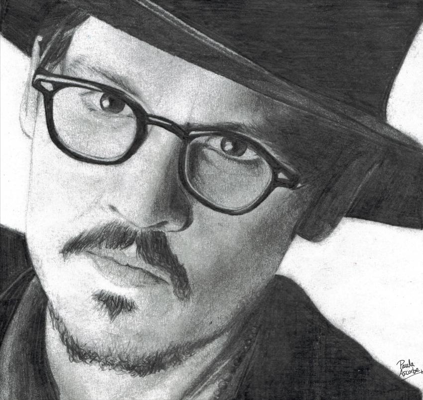Johnny Depp by paula.ascorbe.art